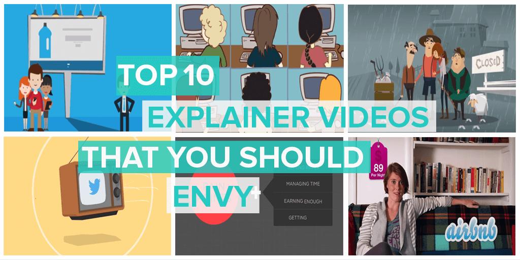 Top ten explainer videos that you should envy