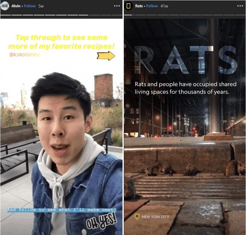 social video trends 2020 - instagram story