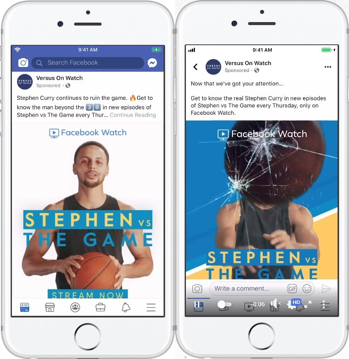 Facebook Watch - Social media video trends 2020