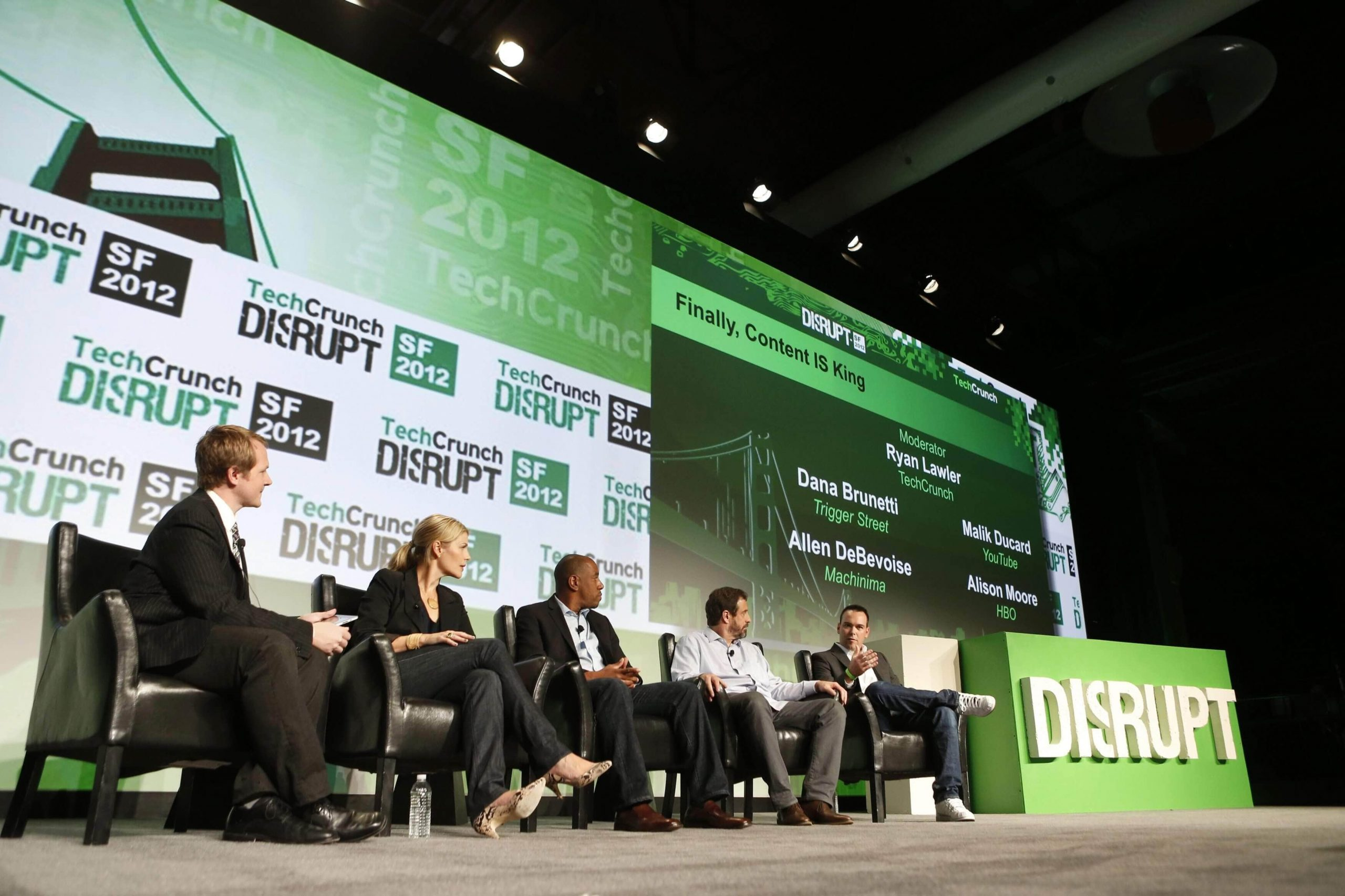 TechCrunch Disrupt - top tech conferences 2017 - Motioncue