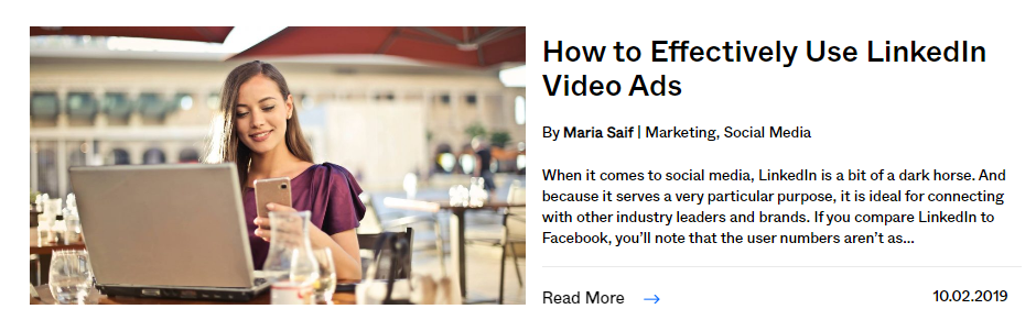 how to post linkedIn video ads