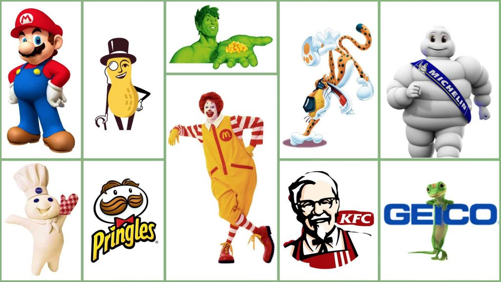 commercial characters